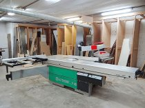 Lot 1 altendorf f45 slider 3400 sliding table saw 2000 for Table 6 irs publication 501